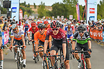 Pavel Sivakov (RUS) Team Ineos crosses the finish line at the end of Stage 2 of the Route d'Occitanie 2020, running 174.5km from Carcassone to Cap Découverte, France. 2nd August 2020. <br /> Picture: Colin Flockton | Cyclefile<br /> <br /> All photos usage must carry mandatory copyright credit (© Cyclefile | Colin Flockton)