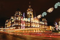 Glasgow City Chambers, George Square, Glasgow<br /> <br /> Copyright www.scottishhorizons.co.uk/Keith Fergus 2011 All Rights Reserved