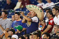 Fans. The New England Revolution defeated Pachuca CF 1-0 during a Group B match of the 2008 North American SuperLiga at Gillette Stadium in Foxborough, Massachusetts, on July 16, 2008.