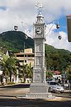 Seychelles, Island Mahe, capital Victoria: Clock Tower