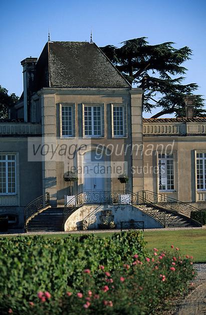 Europe/France/Aquitaine/33/Gironde/Saint-Estèphe: château Lafon-Rochet (AOC Saint-Estèphe) [Non destiné à un usage publicitaire - Not intended for an advertising use]