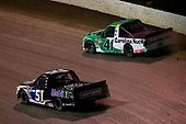 #41: Ben Rhodes, ThorSport Racing, Ford F-150 Alpha Energy Solutions and #51: Logan Seavey, Kyle Busch Motorsports, Toyota Tundra Mobil 1