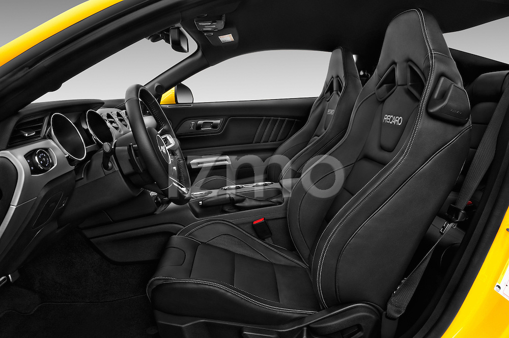 Front seat view of 2016 Ford Mustang EcoBoost 2 Door Coupe Front Seat  car photos