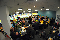 Fans in the Wellington Rugby lounge during the Super Rugby final match between the Hurricanes and Lions at Westpac Stadium, Wellington, New Zealand on Saturday, 6 August 2016. Photo: Dave Lintott / lintottphoto.co.nz
