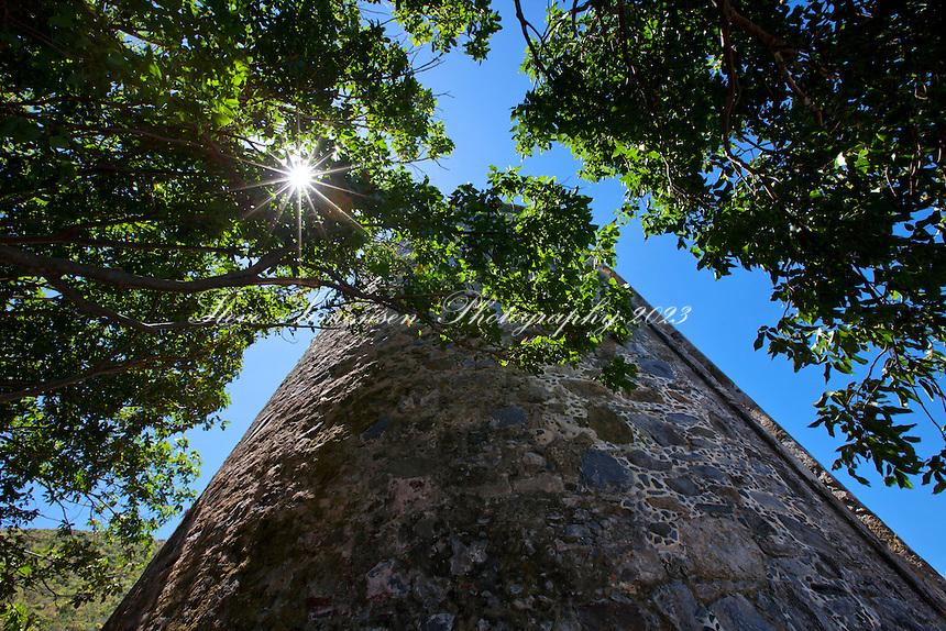 Annaberg sugar plantation ruins <br /> Virgin Islands national Park <br /> St. John U..S Virgin Islands