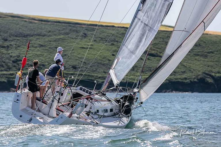 Artful DodJer (IRL1713) from Kinsale Yacht Club skippered by Finbarr O'Regan