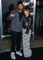 HOLLYWOOD, LOS ANGELES, CA, USA - SEPTEMBER 29: Pooch Hall, Linda Hall arrive at the Los Angeles Premiere Of New Line Cinema's 'Annabelle' held at the TCL Chinese Theatre on September 29, 2014 in Hollywood, Los Angeles, California, United States. (Photo by Xavier Collin/Celebrity Monitor)