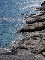 Strand von Chiessi , Elba, Region Toskana, Provinz Livorno, Italien, Europa<br /> beach of Chiessi, Elba, Region Tuscany, Province Livorno, Italy, Europe