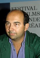 FILE - Gerard Jugnot<br /> at the World Film Festival<br /> , circa 1987<br /> <br /> Photo : <br /> Pierre Roussel - Agence Quebec Presse