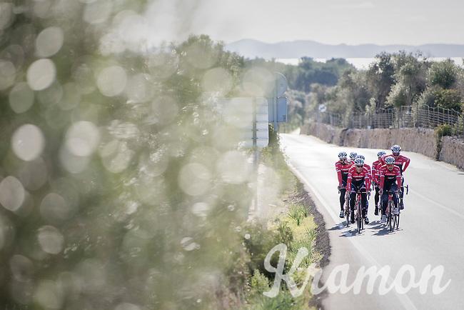 Team Trek-Segafredo at winter training camp <br /> <br /> january 2017, Mallorca/Spain