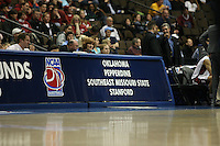 18 March 2006: The Pepsi Center arena NCAA signage during Stanford's 72-45 win over Southeast Missouri State in the first round of the NCAA Women's Basketball championships at the Pepsi Center in Denver, CO.