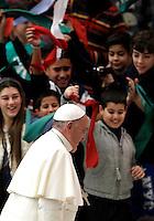 20141228 VATICANO: PAPA FRANCESCO INCONTRA LE FAMIGLIE NUMEROSE