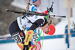 MARTELL-VAL MARTELLO, ITALY - FEBRUARY 02: HENNECKE Carolin (GER) after the Women 7.5 km Sprint at the IBU Cup Biathlon 6 on February 02, 2013 in Martell-Val Martello, Italy. (Photo by Dirk Markgraf)
