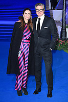 """Livia and Colin Firth<br /> arriving for the """"Mary Poppins Returns"""" premiere at the Royal Albert Hall, London<br /> <br /> ©Ash Knotek  D3467  12/12/2018"""