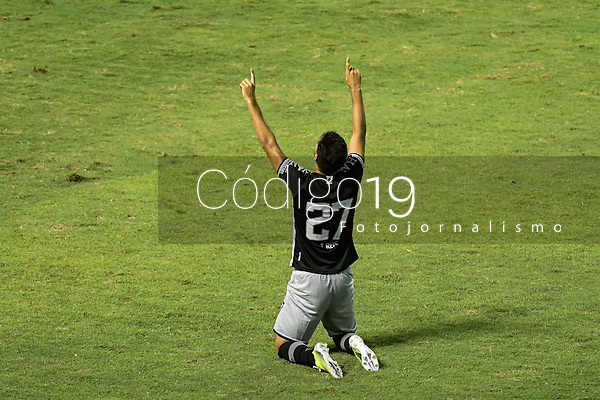Volta Redonda (RJ), 03/04/2021 - VASCO-BANGU - Tiago Reis, do Vasco, comemora gol. Partida entre Vasco e Bangu, válida pela oitava rodada da Taça Guanabara, realizada no Estádio Raulino de Oliveira, em Volta Redonda, neste sábado (03).