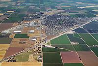 aerial photograph of Dixon, Solano County, California