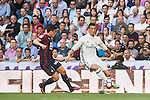 Cristiano Ronaldo of Real Madrid in action during their La Liga match between Real Madrid CF and SD Eibar at the Santiago Bernabéu Stadium on 02 October 2016 in Madrid, Spain. Photo by Diego Gonzalez Souto / Power Sport Images