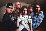 Various portrait sessions and live photographs of the rock band, Candlemass