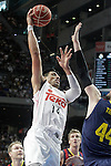 Real Madrid's Gustavo Ayon during Liga Endesa ACB 2nd Final Match.June 21,2015. (ALTERPHOTOS/Acero)