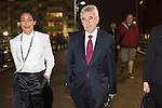 © Joel Goodman - 07973 332324 . 26/09/2016 . Liverpool , UK . Shadow chancellor JOHN MCDONNELL walking outside by the docks on the evening after delivering his conference speech on the second day of the Labour Party Conference at the ACC in Liverpool . Photo credit : Joel Goodman