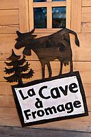 Europe/France/Rhone-Alpes/74/Haute-Savoie/Megève: restaurant: La Cave à Fromage