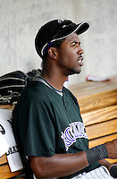 Dexter Fowler - Colorado Rockies - 2009 spring training.Photo by:  Bill Mitchell/Four Seam Images