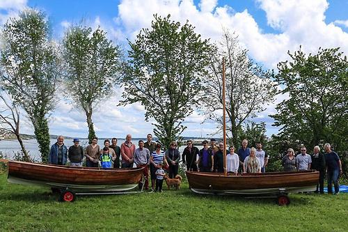 Rankin dinghy sailors of Cork Harbour