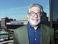 Montreal, 1999-09-04. Italian director Ettore Scola at the World Film Festival in Montreal.Scola's latest movie ;  `` The dinner `` is shown in the official competition of the Festival.<br /> Photo (c) Pierre Roussel, 1999<br /> KEYWORDS :  Ettore Scola, director, cinema, Italia
