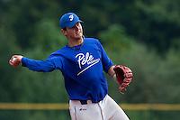 23 September 2009: Pole Baseball Rouen, Quentin Becquey