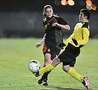 2013.03.19 U19 Belgium - U15 selectie Brabant Jongens