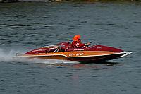 "Steve Wace, E-22 ""Chuck Wagon"", (1968 Ron Jones 280 class cabover hydroplane)"