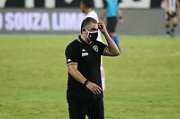 Rio de Janeiro (RJ), 13/03/2021 - Bangu-Botafogo  - Marcelo Chamusca treinador do Botafogo,durante partida contra o Bangu,válida pela 3ª rodada da Taça Guanabara,realizada no Estádio Nilton Santos (Engenhão), na zona norte do Rio de Janeiro,neste sábado (13).