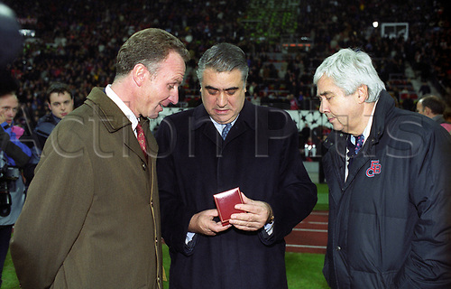 21st March 2020,  Lorenzo Sanz, ex Owner of Malaga FC and ex_President of Real Madrid has passed away in Madrid after contacting Covid-19 (Corona Virus) reported his family. Seen with Karl Heinz Rummenigge and Prof. Fritz Scherer