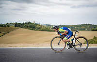 Jan Polanc (SVN/UAE-Emirates)<br /> <br /> Men's Elite Road Race from Imola to Imola (258km)<br /> <br /> 87th UCI Road World Championships 2020 - ITT (WC)<br /> <br /> ©kramon
