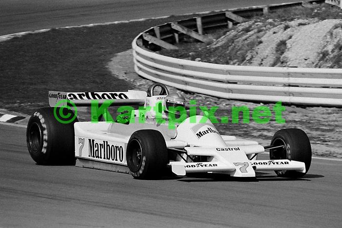 John Watson's  Marlboro McLaren M28 at the1979 Race of Champions at Brands Hatch.