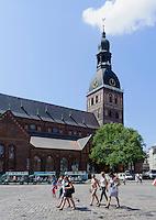 Kathedrale in Riga, Lettland, Europa, Unesco-Weltkulturerbe