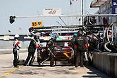 2017 IMSA WeatherTech SportsCar Championship<br /> Mobil 1 Twelve Hours of Sebring<br /> Sebring International Raceway, Sebring, FL USA<br /> Saturday 18 March 2017<br /> 93, Acura, Acura NSX, GTD, Andy Lally, Katherine Legge, Mark Wilkins, pit stop<br /> World Copyright: Michael L. Levitt/LAT Images
