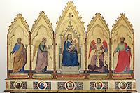 Un polittico di Giotto nella Pinacoteca Nazionale di Bologna.<br /> A polyptych by Giotto in Bologna's National Pinacoteca. <br /> UPDATE IMAGES PRESS/Riccardo De Luca
