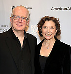 """Tracy Letts and Annette Bening attends the Broadway Opening Night After Party for """"All My Sons"""" at The American Airlines Theatre on April 22, 2019  in New York City."""