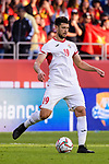 Anas Bani-Yaseen of Jordan in action during the AFC Asian Cup UAE 2019 Round of 16 match between Jordan (JOR) and Vietnam (VIE) at Al Maktoum Stadium on 20 January 2019 in Dubai, United Arab Emirates. Photo by Marcio Rodrigo Machado / Power Sport Images