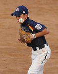 20 August 10: Japan's Kyo Sawai boots a grounder as the go-ahead run scores in Mexico's 4-2 in the Cal Ripken Babe Ruth World Series 12U Majors in Aberdeen, Maryland