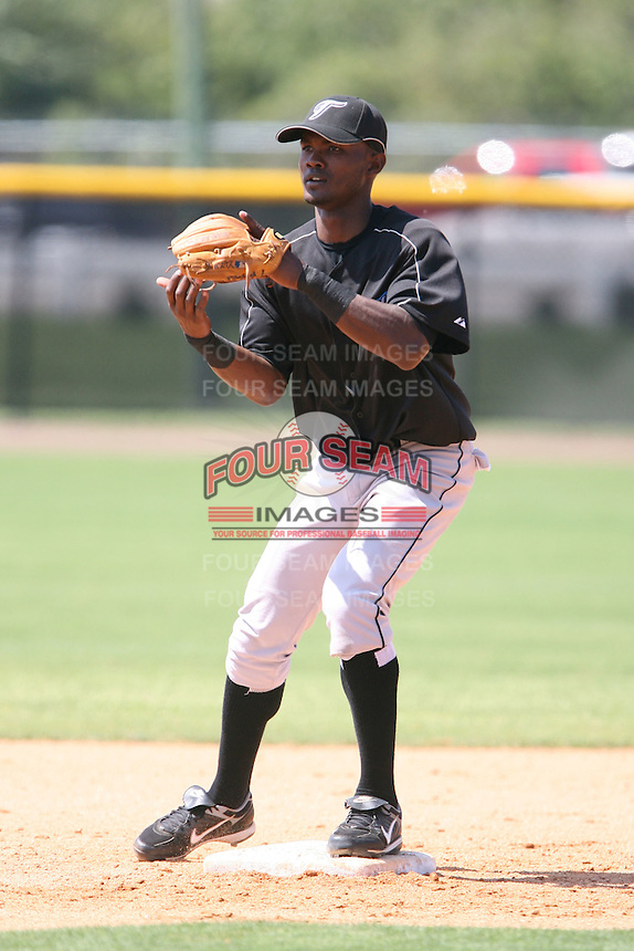 March 17th 2008:  Carlos Vasquez of the Toronto Blue Jays minor league system during Spring Training at Legends Field Complex in Tampa, FL.  Photo by:  Mike Janes/Four Seam Images
