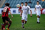 Auckland City Forward Emiliano Tade (c) in action during the 2017 Lunar New Year Cup match between Auckland City FC (NZL) vs FC Seoul (KOR) on January 28, 2017 in Hong Kong, Hong Kong. Photo by Marcio Rodrigo Machado/Power Sport Images