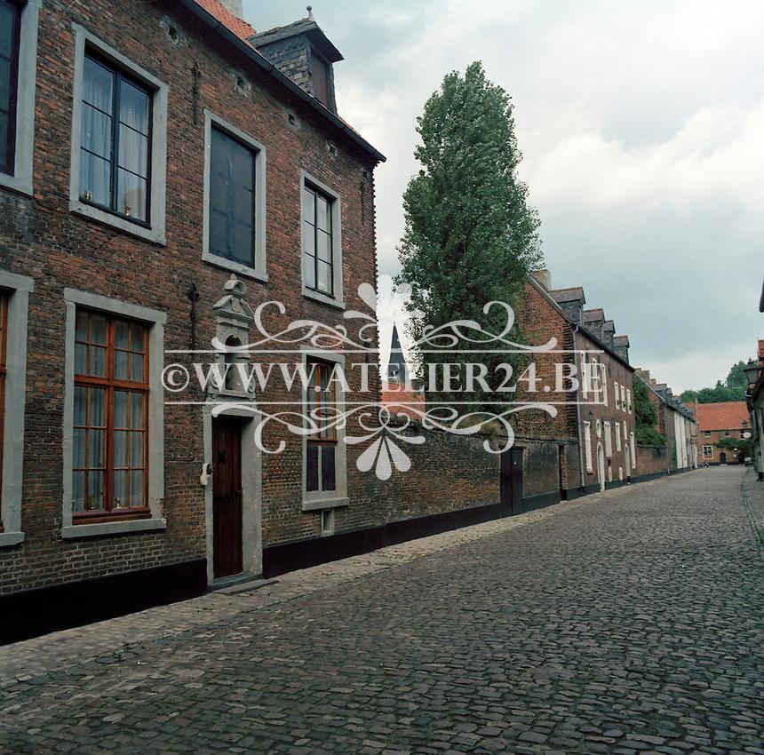 Oktober 1984. Begijnhof van Diest.