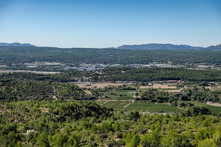 Vallée de l'Arc vers Rousset