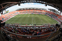Houston, TX - Sunday Oct. 09, 2016: BBVA Compass Stadium during the National Women's Soccer League (NWSL) Championship match between the Washington Spirit and the Western New York Flash at BBVA Compass Stadium. The Western New York Flash win 3-2 on penalty kicks after playing to a 2-2 tie.