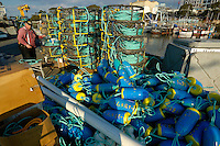 Crab fishing, Monterey, California
