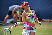 Den Bosch, Netherlands, 07 June, 2016, Tennis, Ricoh Open, Eri Hozumi (JPN)<br /> Photo: Henk Koster/tennisimages.com