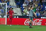 Real Sociedad's Aritz Elustondo during La Liga match. August 24, 2018. (ALTERPHOTOS/A. Perez Meca)