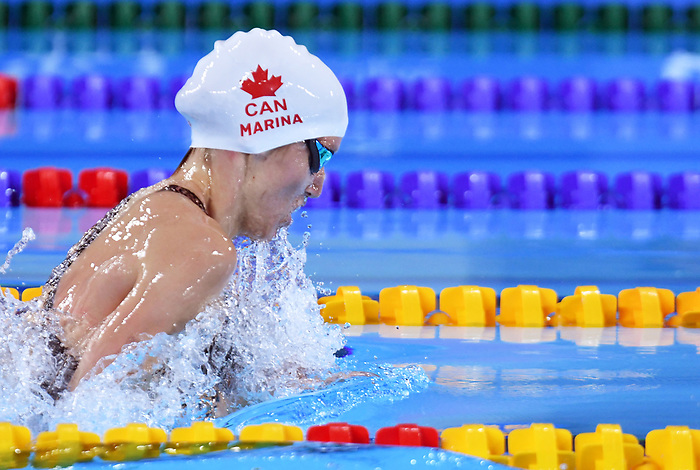 Angela Marina, Lima 2019 - Para Swimming // Paranatation.<br /> Angela Marina competes in Para Swimming // Angela Marina participe en paranatation. 25/08/2019.
